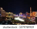 view of the las vegas strip at...