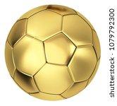 Golden Soccer Ball 3d...