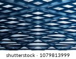 grid ceiling   roof viewed from ... | Shutterstock . vector #1079813999