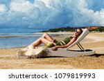 summer lifestyle fashion... | Shutterstock . vector #1079819993