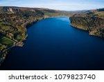 aerial view of glencar lake ...   Shutterstock . vector #1079823740