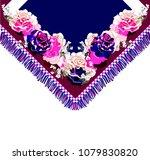 design for t shirt or collar... | Shutterstock .eps vector #1079830820