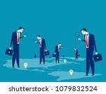 investor. business people...   Shutterstock .eps vector #1079832524