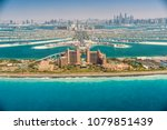 panoramic view of dubai from... | Shutterstock . vector #1079851439