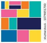 vector mood board   branding... | Shutterstock .eps vector #1079851700
