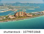 panoramic view of dubai from... | Shutterstock . vector #1079851868