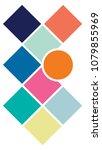 vector mood board   branding... | Shutterstock .eps vector #1079855969