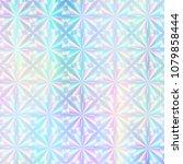 holographic paper. hologram... | Shutterstock . vector #1079858444