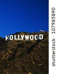 this is the hollywood sign in... | Shutterstock . vector #107985890