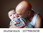 lebanese american father... | Shutterstock . vector #1079863658