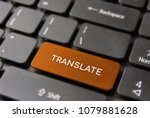 language translation service... | Shutterstock . vector #1079881628