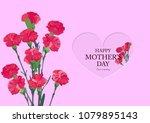 happy mothers' day | Shutterstock .eps vector #1079895143