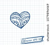 style of children's drawing.... | Shutterstock .eps vector #1079896469