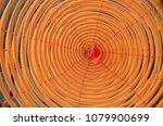 circular incenses burning in... | Shutterstock . vector #1079900699