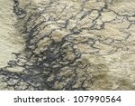 full frame abstract stone surface - stock photo