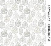 Seamless Stylish Leaf Pattern....