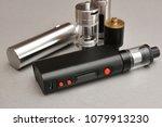 e   cigarette for vaping  ... | Shutterstock . vector #1079913230