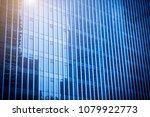 windows of skyscrapers in... | Shutterstock . vector #1079922773