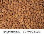 roasted peeled almond nuts... | Shutterstock . vector #1079925128