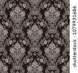 vector classic damask seamless... | Shutterstock .eps vector #1079931686