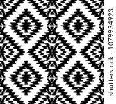 seamless pattern turkish carpet ... | Shutterstock .eps vector #1079934923