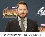 chris pratt at the premiere of... | Shutterstock . vector #1079943284
