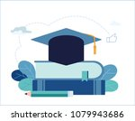education vector illustration.... | Shutterstock .eps vector #1079943686