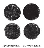 grunge post stamps.vector... | Shutterstock .eps vector #1079945216
