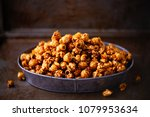 close up of rustic salted... | Shutterstock . vector #1079953634