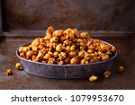 close up of rustic salted... | Shutterstock . vector #1079953670