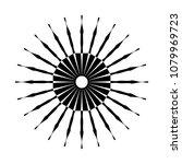retro sun burst shape. vintage...   Shutterstock .eps vector #1079969723