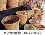 dried herbs for sell in the... | Shutterstock . vector #1079978783