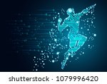 big data and artificial... | Shutterstock .eps vector #1079996420