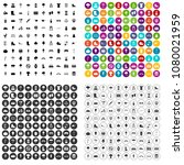 100 park icons set vector in 4... | Shutterstock .eps vector #1080021959