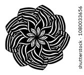 mandalas for coloring book.... | Shutterstock .eps vector #1080033656