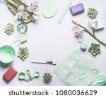 natural herbal skin care...   Shutterstock . vector #1080036629