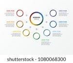 seven steps design layout... | Shutterstock .eps vector #1080068300