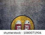 comfort zone concept. street... | Shutterstock . vector #1080071906