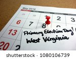 primary election day west... | Shutterstock . vector #1080106739