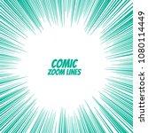 comic speed zoom lines... | Shutterstock .eps vector #1080114449