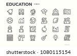 education icons. school...