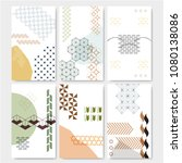 japanese pattern vector with... | Shutterstock .eps vector #1080138086