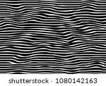 abstract flowing lines and... | Shutterstock .eps vector #1080142163