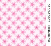 cherry blossom. seamless...   Shutterstock .eps vector #1080147710