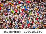 pile of used soda plugs | Shutterstock . vector #1080151850