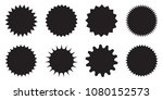 blank promo stickers set.... | Shutterstock .eps vector #1080152573