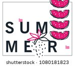 summer lettering. summer...   Shutterstock .eps vector #1080181823
