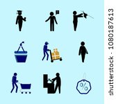 icons about human with basket ... | Shutterstock .eps vector #1080187613