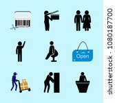 icons about human with slate ... | Shutterstock .eps vector #1080187700