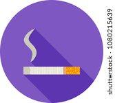 lit cigarette icon | Shutterstock .eps vector #1080215639
